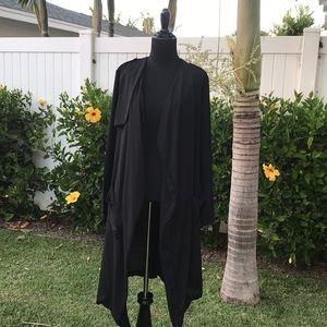 ASTR Black Long Light Cardigan